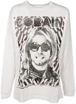 R 13 Cobain Print Sweatshirt