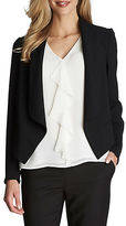 CeCe Heavy Crepe Shawl Collar Jacket