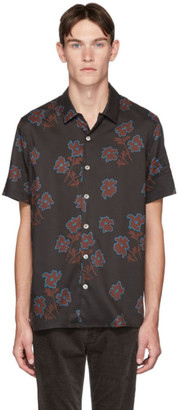 Paul Smith Black Floral Casual-Fit Shirt