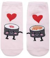 Forever 21 Sushi Love Ankle Socks