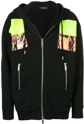 DSQUARED2 Paneled Hoodie