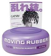 Gatsby Mandom Moving Rubber Wild Shake Pomade, 0.5 Pound