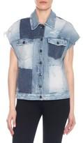 Joe's Jeans Women's Oversize Patchwork Jacket