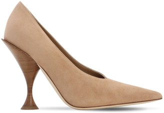 Burberry 105mm Evan Leather Pumps