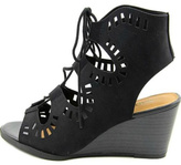 Madeline Morning Glory Wedge