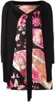 Salvatore Ferragamo layered blouse - women - Silk/Wool - M
