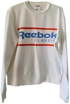 Reebok White Cotton Knitwear for Women