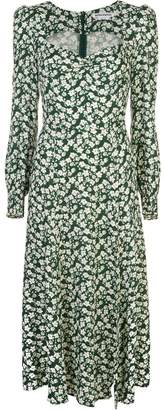 Reformation Wallflower printed midi-dress