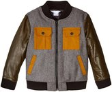 Little Marc Jacobs Teddy Jacket (Toddler/Kid) - Gris/Kaki - 2A