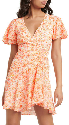 Forever New Joanna Ruched Mini Dress