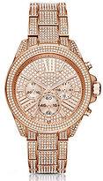 Michael Kors Wren Pav Chronograph Bracelet Watch