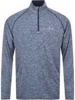 Under Armour Half Zip Tech Sweatshirt Blue