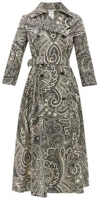 Max Mara Addobbo Dress - Womens - Black White
