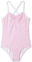Stella Cove Toddler Girl's Pink Star Print One-Piece Swimsuit
