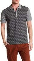 Ben Sherman Gingham Herringbone Polo Shirt
