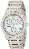 Swiss Precimax Women's SP12080 Desire Elite Diamond Mother-Of-Pearl Dial Watch