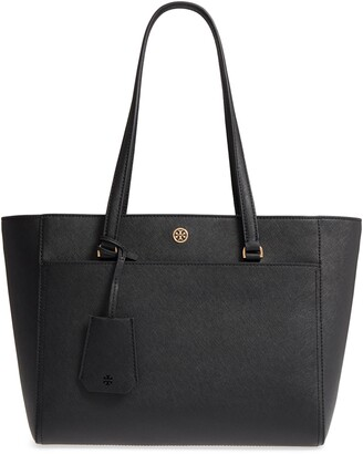 Tory Burch Small Robinson Leather Tote