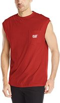 Caterpillar Men's Trademark Sleeveless Pocket Tee