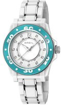 Breil Milano Women's Quartz Watch with White Dial Analogue Display and White PU Bracelet TW1023