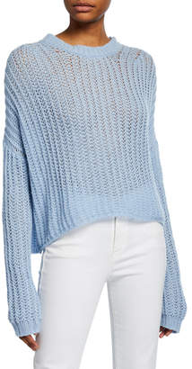 A.L.C. Reno Drop-Shoulder Knit Sweater