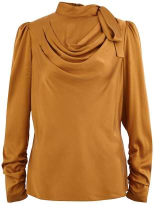 Zimmermann Espionage silk blouse