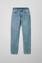 Thumbnail for your product : Weekday Seattle High Tapered Jeans - Blue