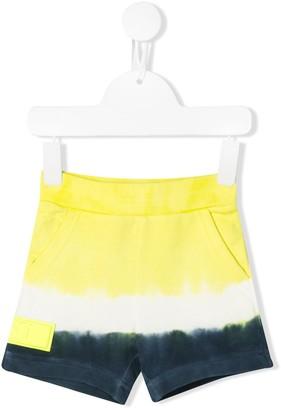 Diesel tie-dye jersey shorts