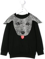 Bang Bang Copenhagen - 'Good Doggie' sweatshirt - kids - Cotton/Polyester/Spandex/Elastane - 2 yrs
