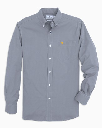 Southern Tide West Virginia Gingham Button Down Shirt