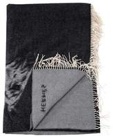 Hermes Cheval Lusitanien Cashmere Throw Blanket