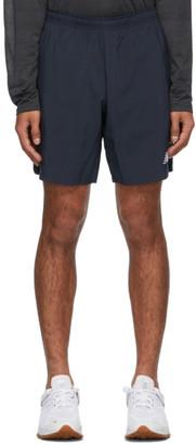 New Balance Navy Velocity Shorts