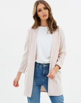 Wallis Long-Line Blazer Jacket