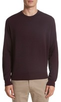 Canali Men's Regular Fit Two-Tone Wool Sweater