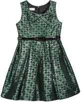 Bonnie Jean Metallic Jacquard Party Dress, Big Girls (7-16)