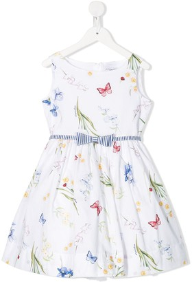 MonnaLisa Multi-Print Flared Dress