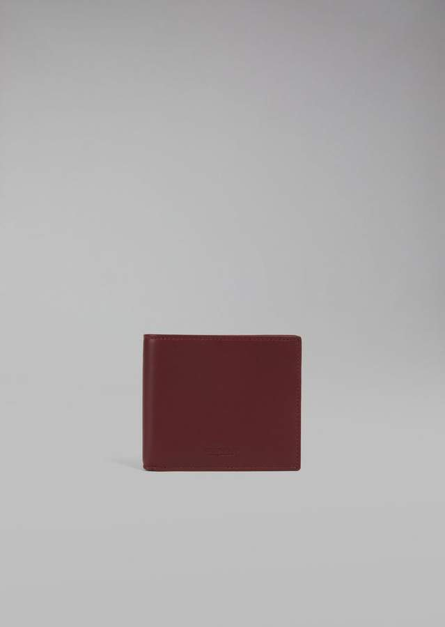 Giorgio Armani Smooth Leather Wallet