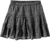 Old Navy Girls Tiered Eyelet-Lace Skirts