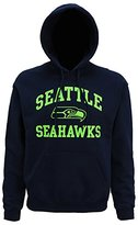 Official American Sports Merchandise Mens Seattle Seahawks Logo Hoodie (XL)