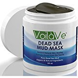 Heal's VoilaVe Dead Sea Mud Mask, Huge 16 oz. Jar Imported from Israel, Organic Facial Mask with Shea Butter, Sunflower Oil, and Aloe Detoxifies, Exfoliates, Moisturizes and Restores Skin's Natural Radiance