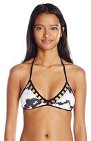 Reef Women's Island Mist Bralette Bikini Top with Cut Out Detail