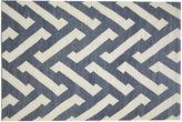Nalbandian 6'1x4'1 Tefnut Flat-Weave Rug, Blue