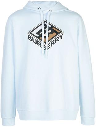 Burberry graphic logo hoodie