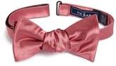 The Tie Bar Solid Silk Bow Tie