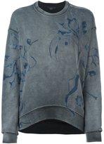 Diesel floral print sweatshirt