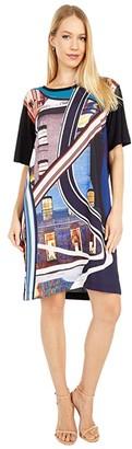 Paul Smith PS Screenprint Shirtdress (Black) Women's Clothing