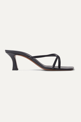 Neous Isia Leather Sandals - Navy