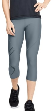 Under Armour Women's HeatGear Graphic Capri Leggings