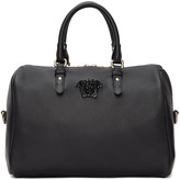 Versace Black Barrel Duffle Bag