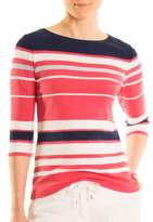 Olsen Striped Cotton Top