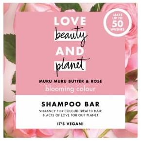 Love Beauty & Planet Love Beauty And Planet Blooming Colour Muru Muru Butter And Rose Shampoo Bar 90G